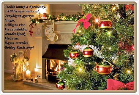 Boldog Karácsonyi ünnepeket kívánok minden klubbtaknak.