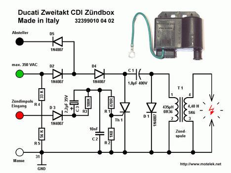 CDI kapcsolási rajza