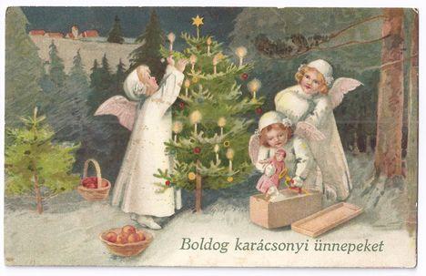 Eljött a Karácsony napja :Dáma Lovag Erdős Anna.