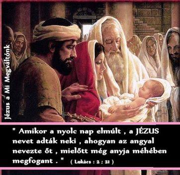 Jézus bemutatása