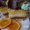Narancsos torta szelet