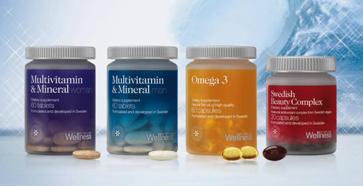 Wellness by Oriflame Táplálkozás kiegészítők