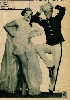 Ábrahám Pál-Heltai Jenő: Mese a Grand Hotelben c. operettje premierje