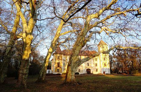 Héderváry kastély, Hédervár 2017. december 31.-én 2