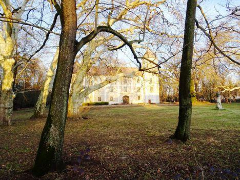 Héderváry kastély, Hédervár 2017. december 31.-én 3