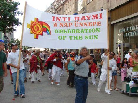 inti raymi, az indián Napünnep 2008