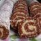 Kókuszkrémes keksztekercs