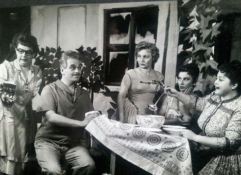 Lorán Lenke, Rátonyi Róbert, Zentai Anna , Gyenes Magda  Fónay Márta - A vők iskolája