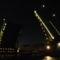 Szentpétervár, hídnyitás a Néván