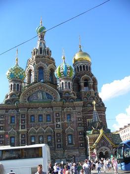 Szentpétervár, Vérző Megváltó Temploma