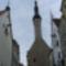 Tallinn, városháza, a torony tetején öreg Tamás a zászlóval