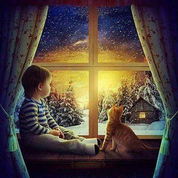 Tél-De szép is lenne egy kis havazás!