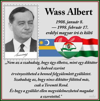 Wass Albert:ÜZENET HAZA