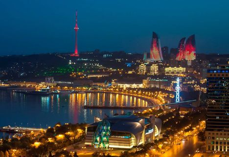 Baku-night