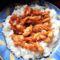 Édes-savanyú mártásos csirke rizzsel