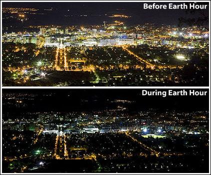 A Föld órája előtt és után