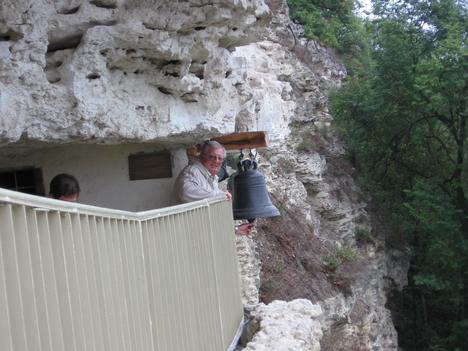 Aladzsa kolostor harangozója Papi