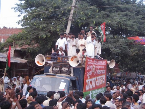 Indiai tüntetés