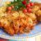 Sajtos-burgonyás csirkemell
