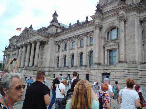 A Reichstag épülete, a német parlament
