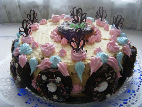 Amerikaifánk torta