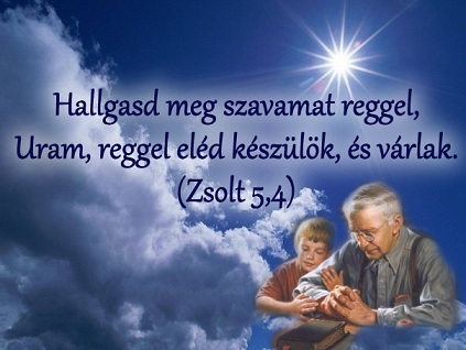 Az örök élet kulcsát adjuk a gyereknek,