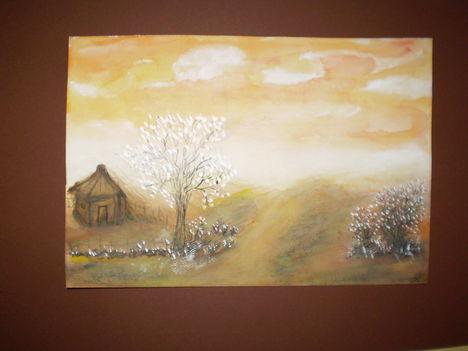 Magány       14x21  aqvarell