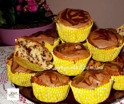 Tejfölös csodabogár muffin