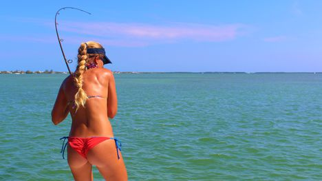 Bikini Florida Keys Tarpon Fishing