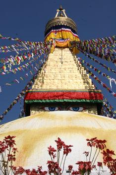 Boudhanath, Katmandu,Nepál