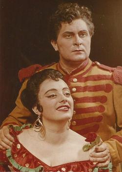 MÁTRAI Ferenc- KOMLÓSSY Erzsébet (Bizet Carmen )