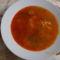Zőldborsó leves.