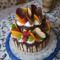 Grillázskrémmel töltött emeletes torta