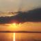 Balaton naplementéje, horgászokkal. 3