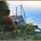 Balaton naplementéje, horgászokkal. 6