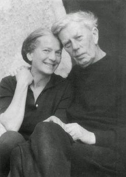 Fischer Annie és férje Tóth Aladár