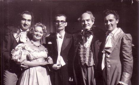 Melis György Gyurkovics Mária Tóth Péter Maleczky Oszkát Kövecses Béla - Donizetti Don Pasquale 1952