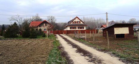 Galambosszigeti falurész, Dunasziget 2018. január 22.-én