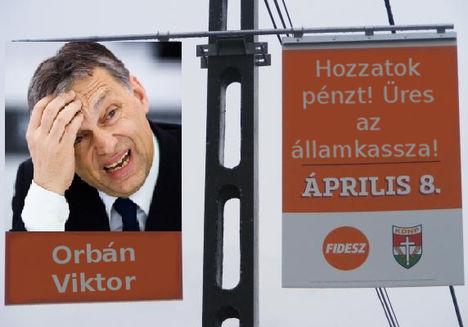 Orbán Viktor plakát