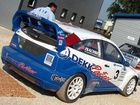 Sverre Isachsen ford focus t16 4*4
