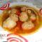 Zöldséges húsgombócos leves