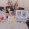 az ünnepi asztalok egyike , az Ápr 3-i  Zenebarátkör találkozón.