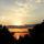 Sárvári Gyuláné -Balatoni naplemente