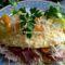 Sonkás,sajtos omlett