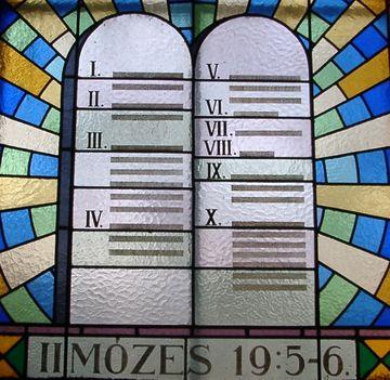 Gáborjáni Szabó Kálmán üvegablaka (részlet) 7. - Szeged-Honvéd téri templom