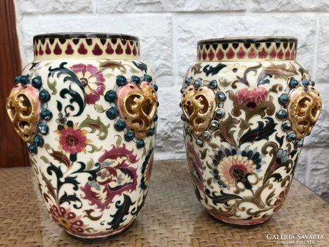 Zsolnay antik vaza pàrban