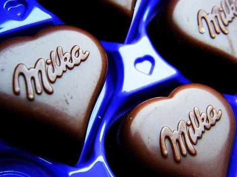 a jó öreg szivecskés Milka