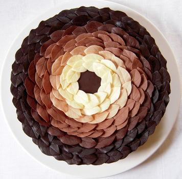 csokoládé koszorú