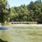 Szent Kristóf híd a Duna folyam hullámterén, Kisbodak 2018. május 06.-án 1
