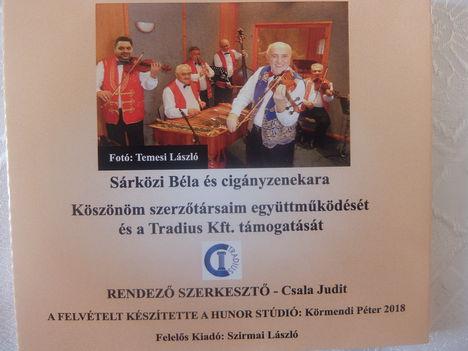 """Szirmai László (Tavasszal a virágok már...."""" CD-jének  hátsó borítója."""